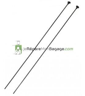 Tiges de Poignée télescopique 43cm TPT001