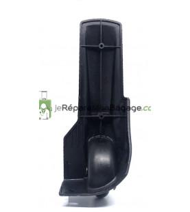 Eléments de poignée de valise en métal E003 noir