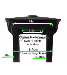 Poignée télescopique 2 positions PT400 noir