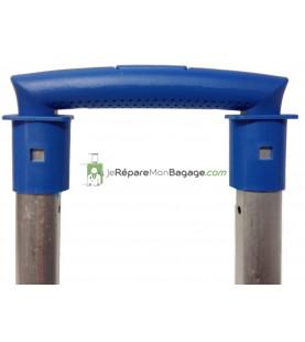 Eléments de poignée de valise en métal E021gris