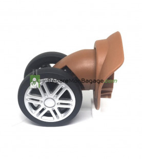 roue bagage cassée