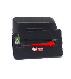 Poignée de valise PL 204 gris antharcite