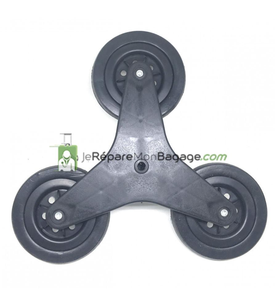 roue poussette de marché