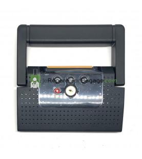 Poignée de valise PL080 gris anthracite