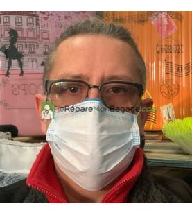 respirer avec un masque
