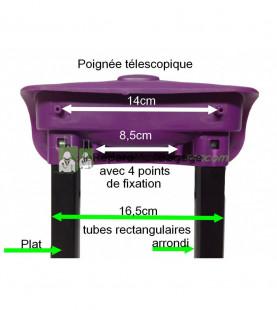 Poignée de valise PL702 noir