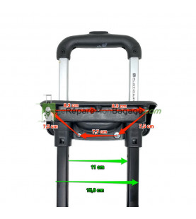 réparation de valise