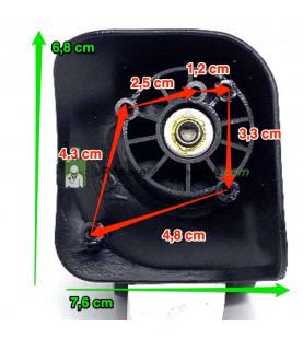 Eléments de Poignée télescopique EPT517 noir