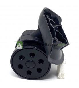 Eléments de poignée de valise E003 Impression 3D noir taille petit