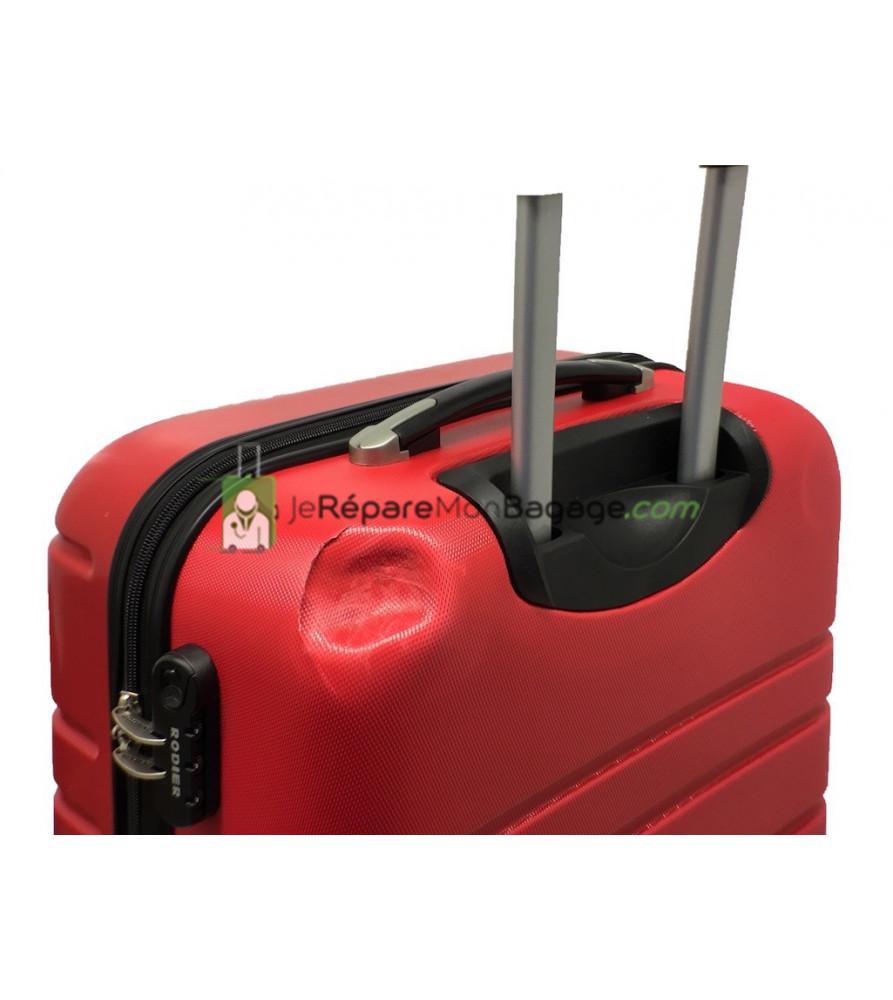 réparation de coque de bagage