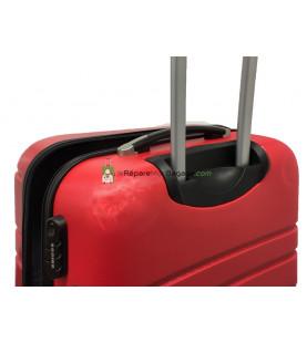 réparation de coque de valise