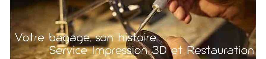 Réparation de valises - Impression 3D - pièces détachées